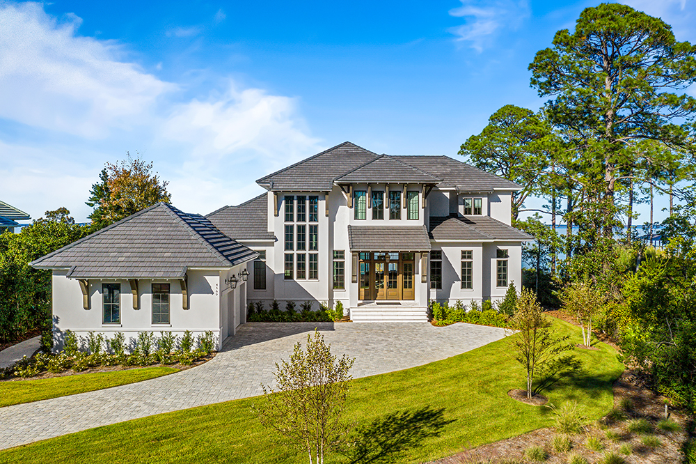 Recently Completed – Alex's House in Regatta – Destin Construction